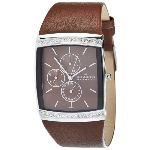 SKAGEN Glitz Swarovski Crystal Ladies Watch 656LSLD